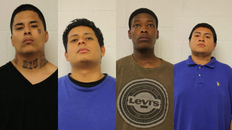 7 charged in machete attack on CTA Brown Line platform