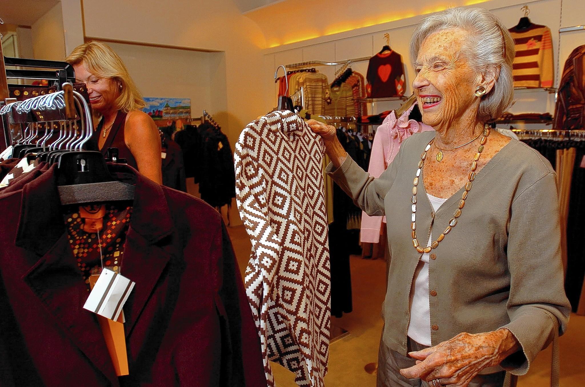Octavia Dugan at Furs by Octavia in 2005.