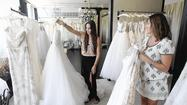 Store's wedding gift to military brides: free gowns