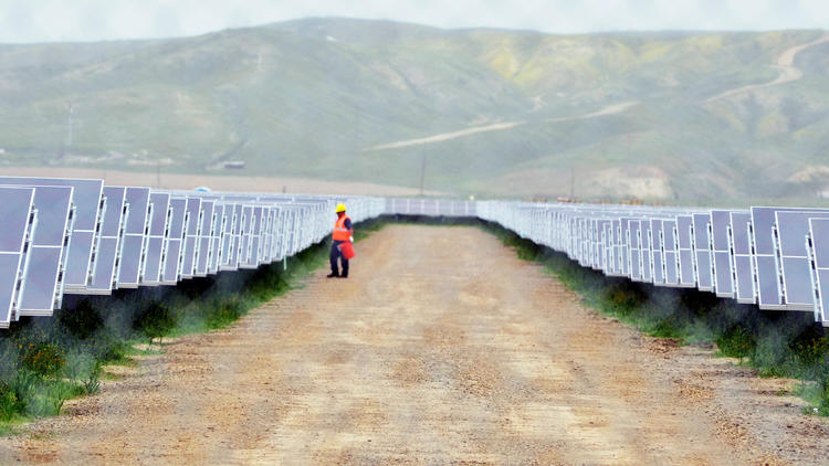 Google funds solar project