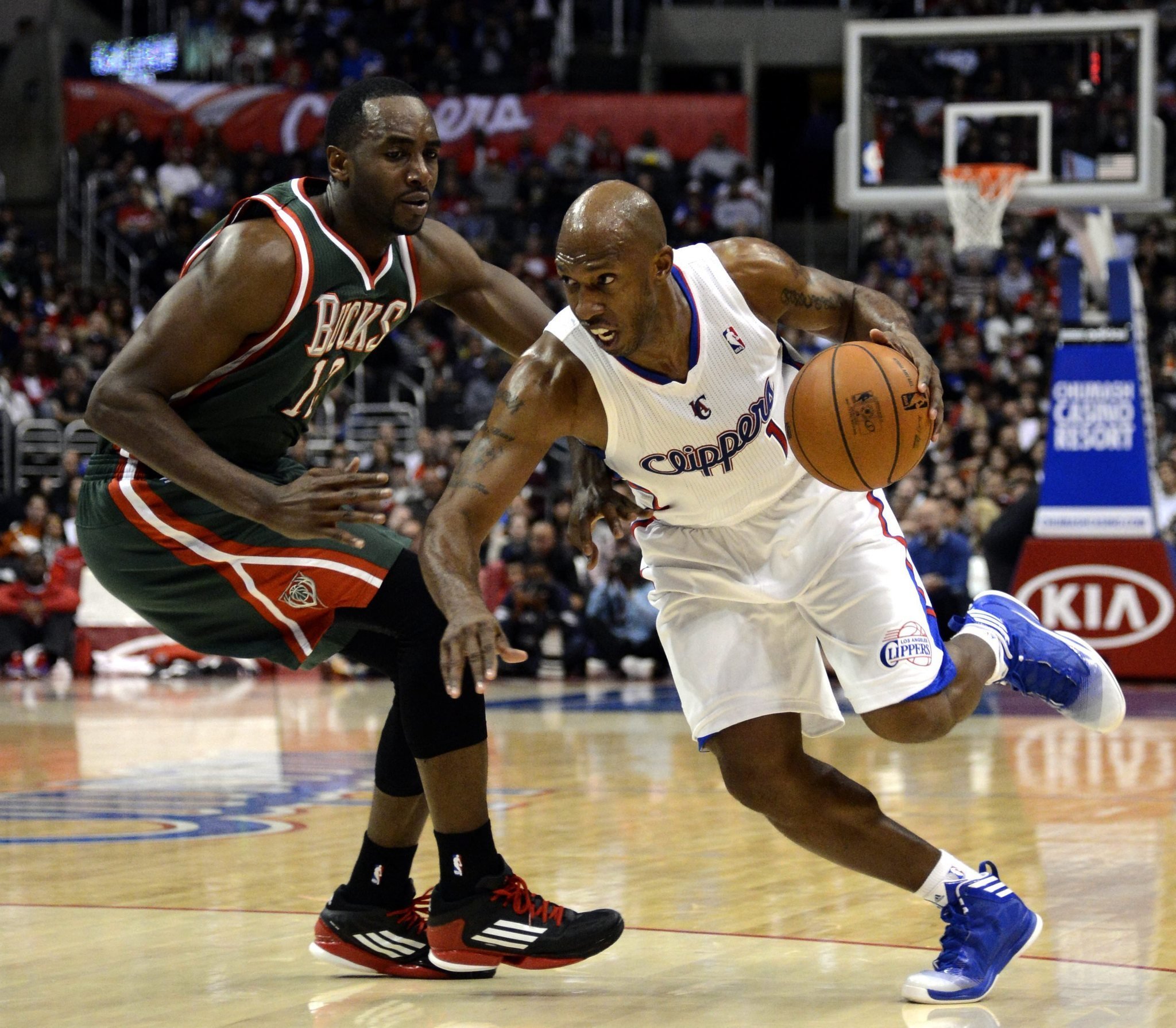 Chris Paul DeAndre Jordan show love for Chauncey Billups on