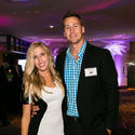 "Christen Anderson, left, and Jeremy Pound attended the ""2014 Sun Sentinel Top Workplaces for People on the Move Awards"" Aug. 21 at the W Hotel Fort Lauderdale."