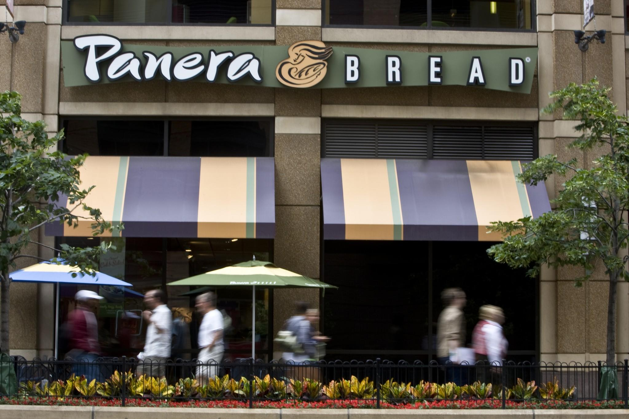 "Panera Bread CEO Ronald M. Shaich announced Monday ""that the company will proactively ask guests at its 1,800 bakery-cafs in 40 states to leave their firearms at home."""