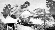 La Cañada History: Skateboard ramp comes in handy for a dip in the pool
