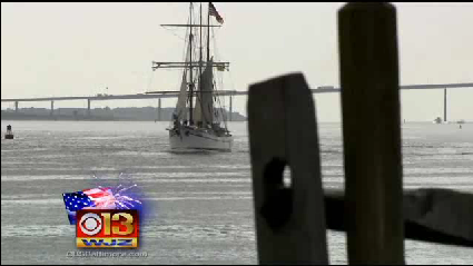 Tall ships arrive in Baltimore [WJZ Video]