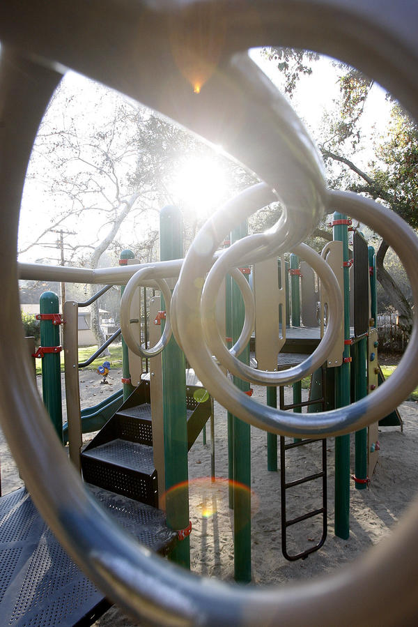 how to get playground equipment donated