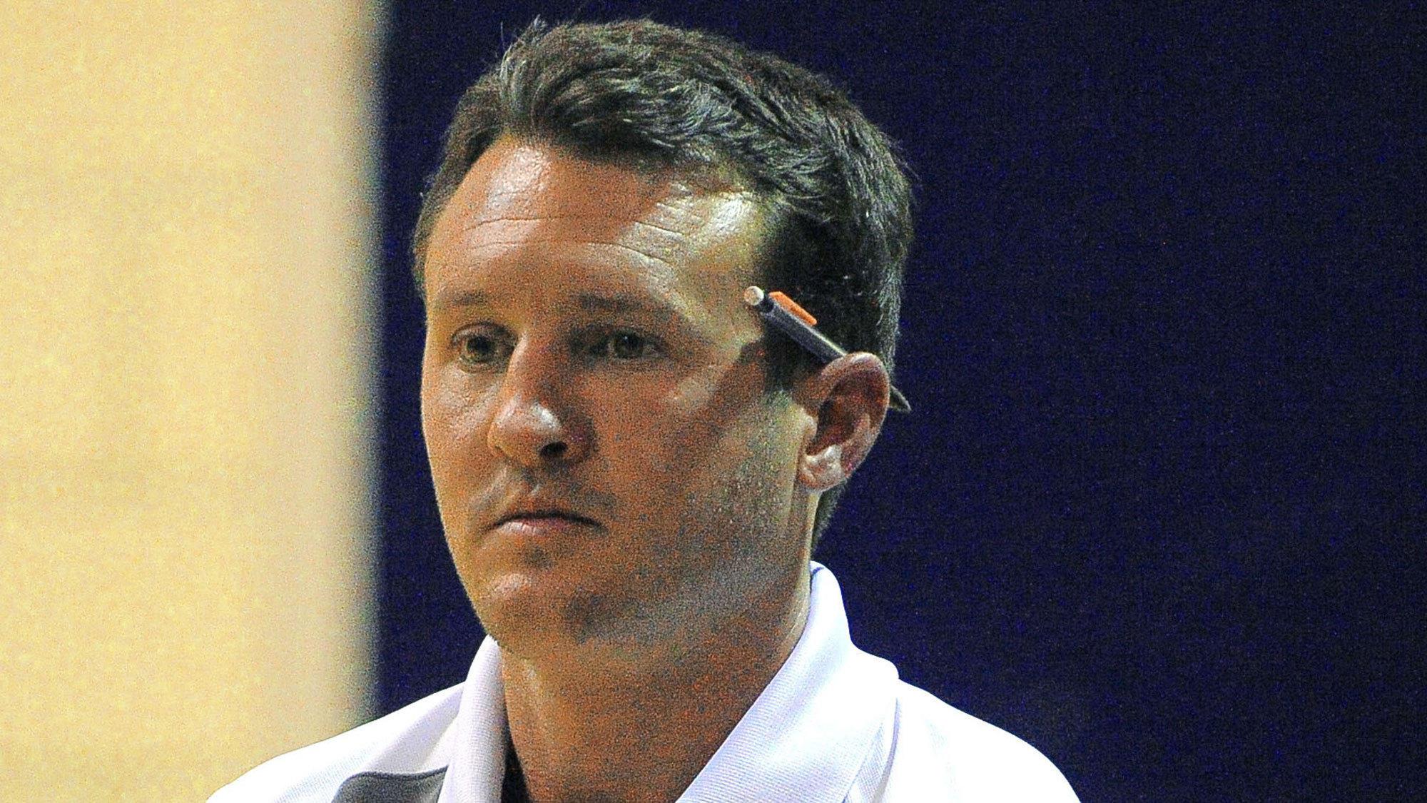 Broadneck volleyball coach David Verostic.