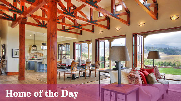 Home Of The Day Modern Hacienda At The San Marcos Foothills Daily Pilot