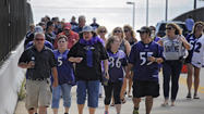 Ravens fans going to game with mixed emotions