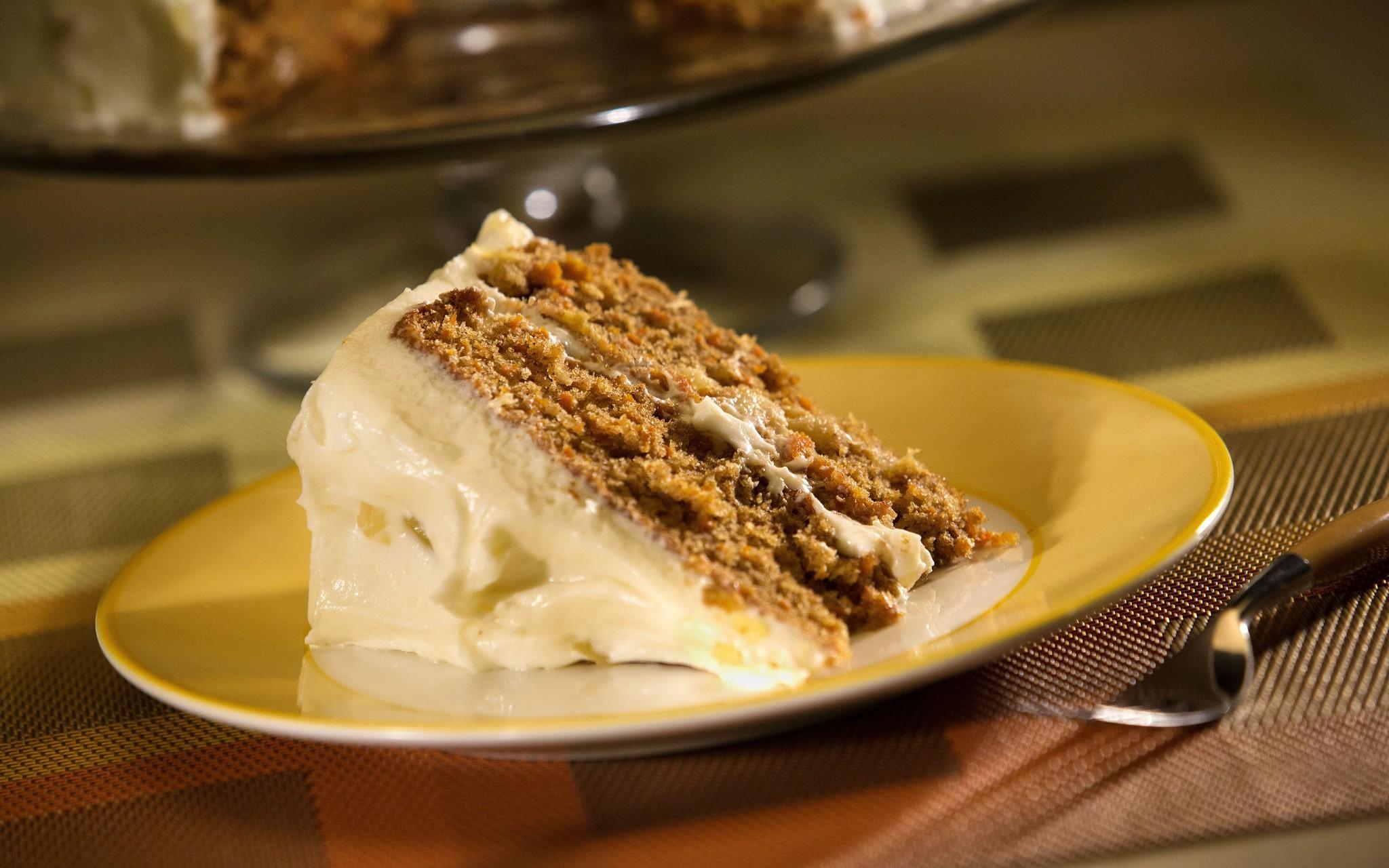 Madonna Inn's carrot cake