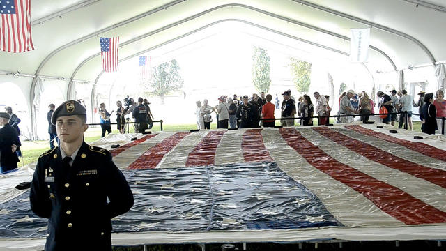 National 9/11 Flag visits Fort McHenry [Video]