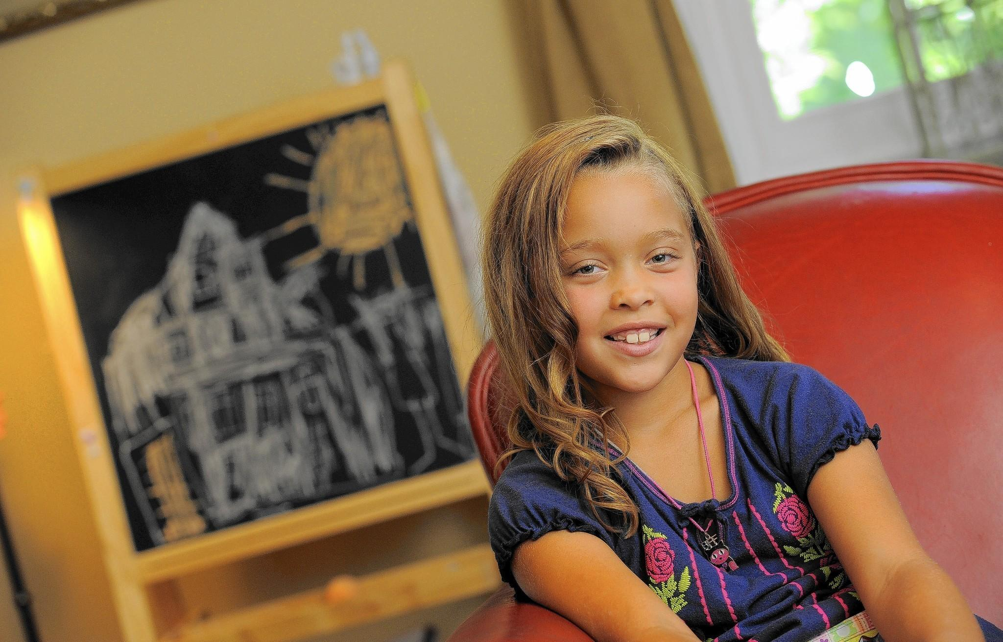 """Zara Cheek, a 7-year-old girl with Type I diabetes, participated in a """"bionic pancreas"""" study at a camp in Boston this summer. """"I had an excellent time, and I never got homesick,"""" she said. """"I can't wait to go next year."""""""
