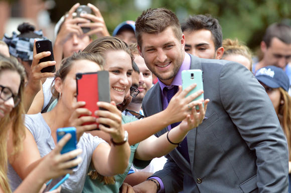 Tim Tebow in Gainesville