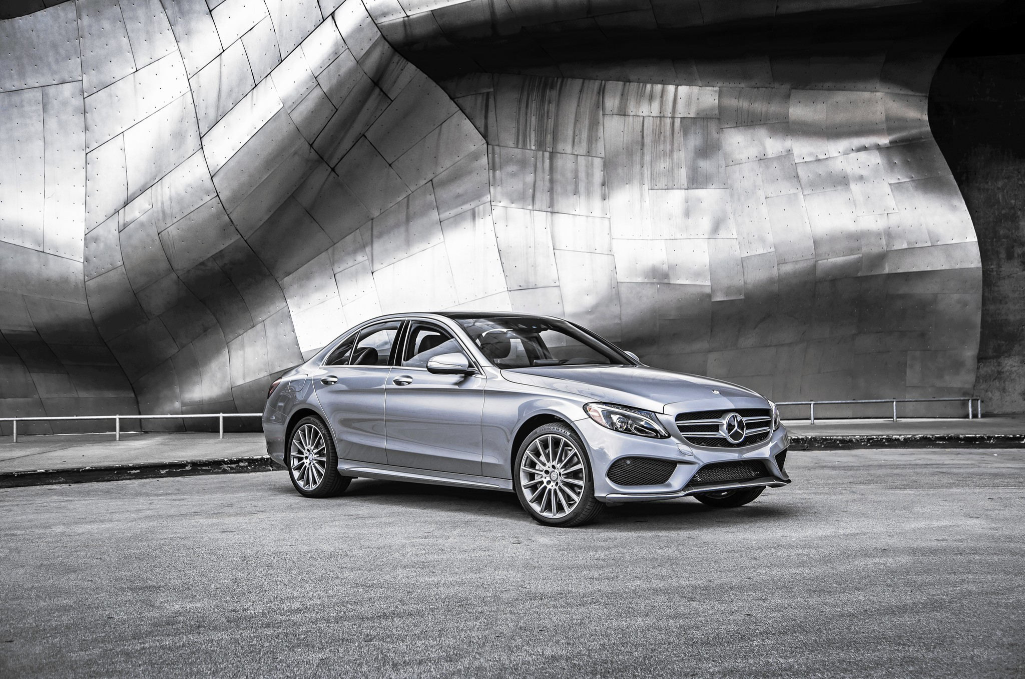 review: mercedes gives new c-class a luxury upgrade, including