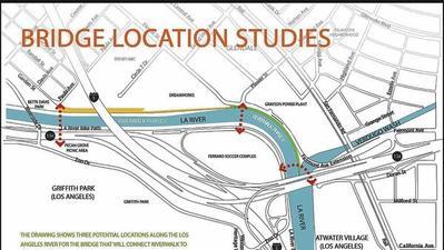 Meeting outlines bridge options from Glendale Narrows Riverwalk to Los Angeles