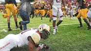 Terps rally to tie WVU, lose on game-ending field goal