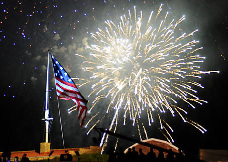 The Star Spangled Spectacular Concerts and firework show at Fort McHenry to celebrate the 200th Anniversary of the National Anthem.