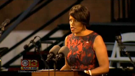 Baltimore mayor hospitalized with shortness of breath [WJZ Video]