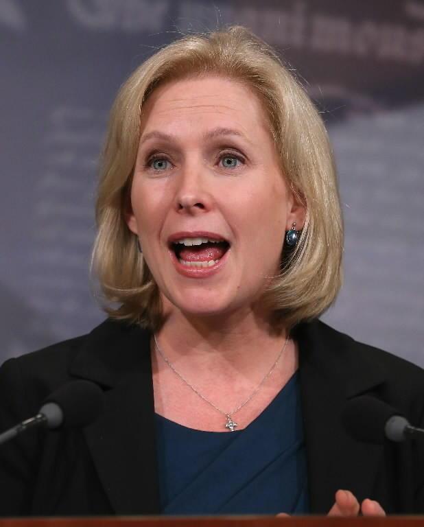 Sen. Kirsten Gillibrand, a New York Democrat.