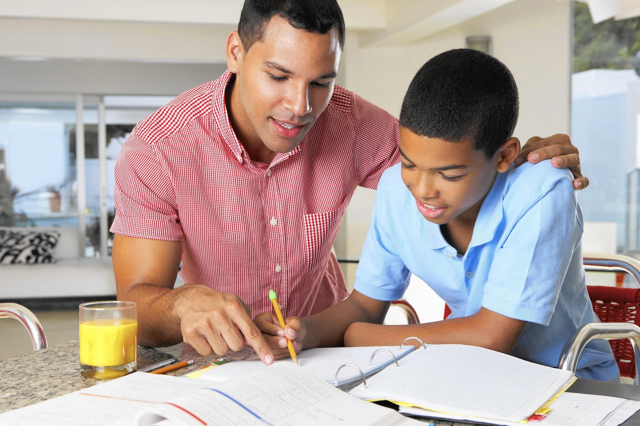 helping homework is fine experts say but don t take over   istock