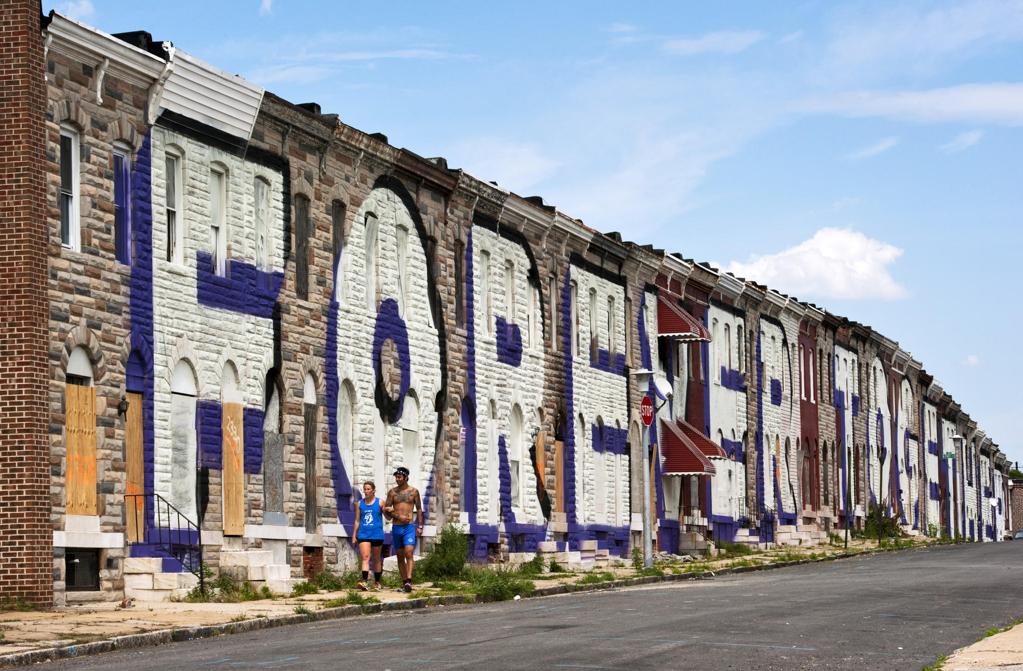 Baltimore announces 39 love letter 39 mural project by stephen for City mural projects