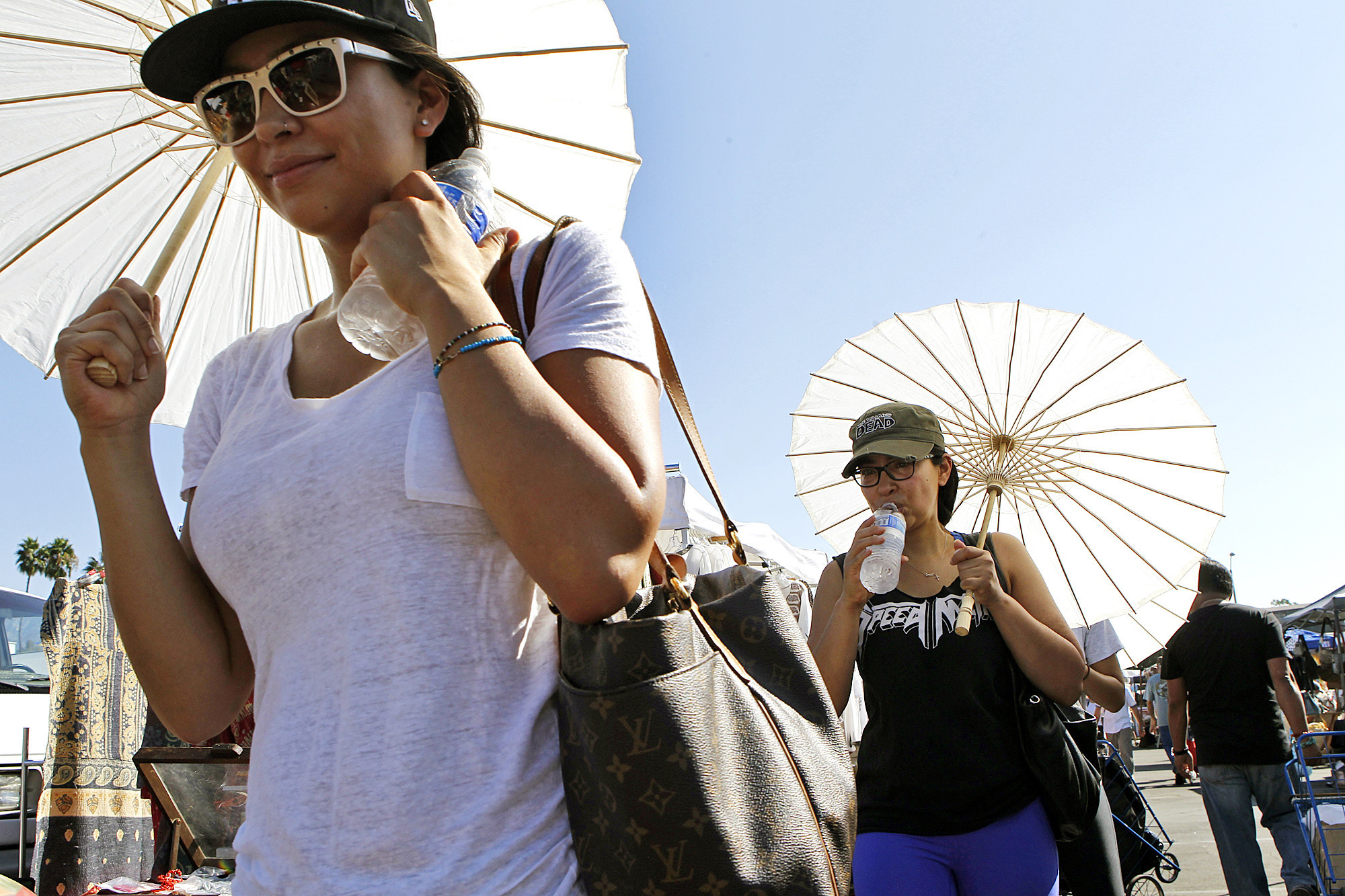 Related story: How hot is it, L.A.? We're breaking records; show us your misery