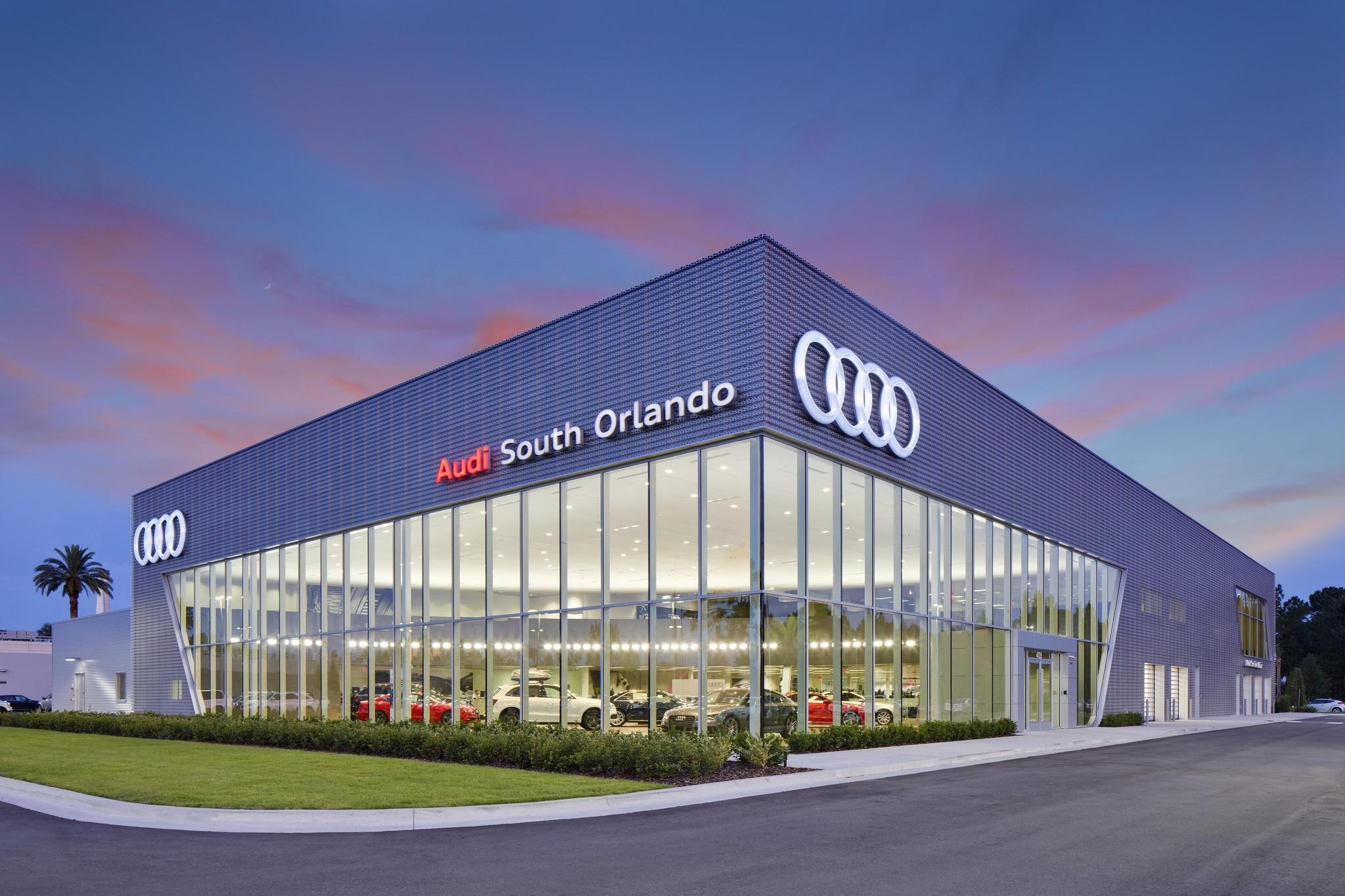 Autonation Opens 21m Audi South Orlando Orlando Sentinel