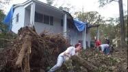 Hurricane Isabel's visit