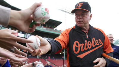 Orioles notes on Buck Showalter tying his mentor in wins, Chris Davis and more