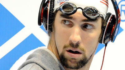 Sun coverage: Michael Phelps