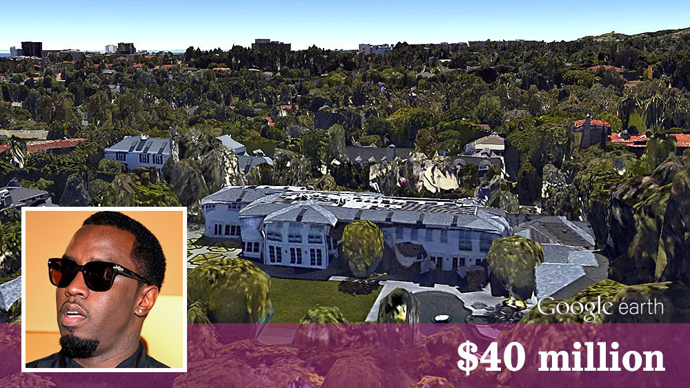 Sean Combs Spends 40 Million For Newly Built Mansion La