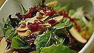 Recipe: Pear and Apple Salad With Cranberry Vinaigrette