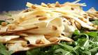 Recipe: King trumpet mushroom salad with arugula and shaved Parmigiano
