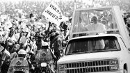 The popemobile through the years