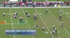 Football player plays dead during fake punt [Video]