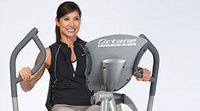 High-tech elliptical workout machines stand out from the rest