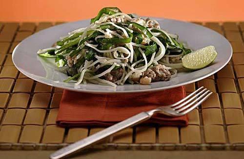 Fresh herbs at the center of Vietnamese cuisine