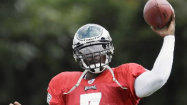 Vick ready for first regular-season game