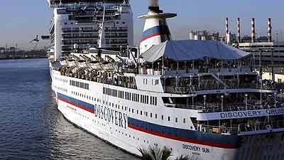 Discovery Cruise Heads Out Of Fort Lauderdale Orlando Sentinel - Discovery sun cruise ship