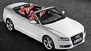 Audi A5 cabriolet turns up the heat