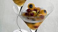 Melon ball 'martini'