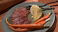 <b>Top 12 recipes of 1998:</b> Steamed corned beef and cabbage, a turkey tonnato sandwich, cinnamon buns, a cassoulet and more.