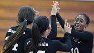 Photo Gallery: Glendale vs. Monrovia non-league girls volleyball