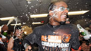 Orioles celebrate American League East title [Pictures]