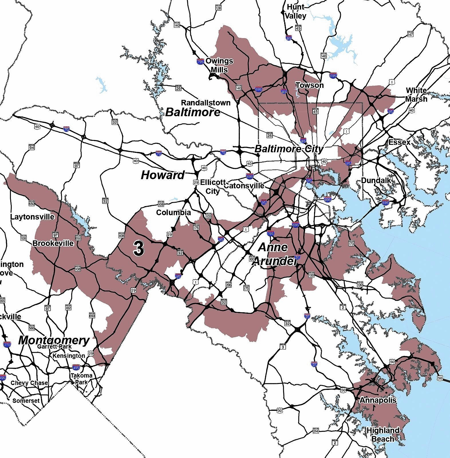 Gerrymander Meander relay run planned in Maryland\'s 3rd ...