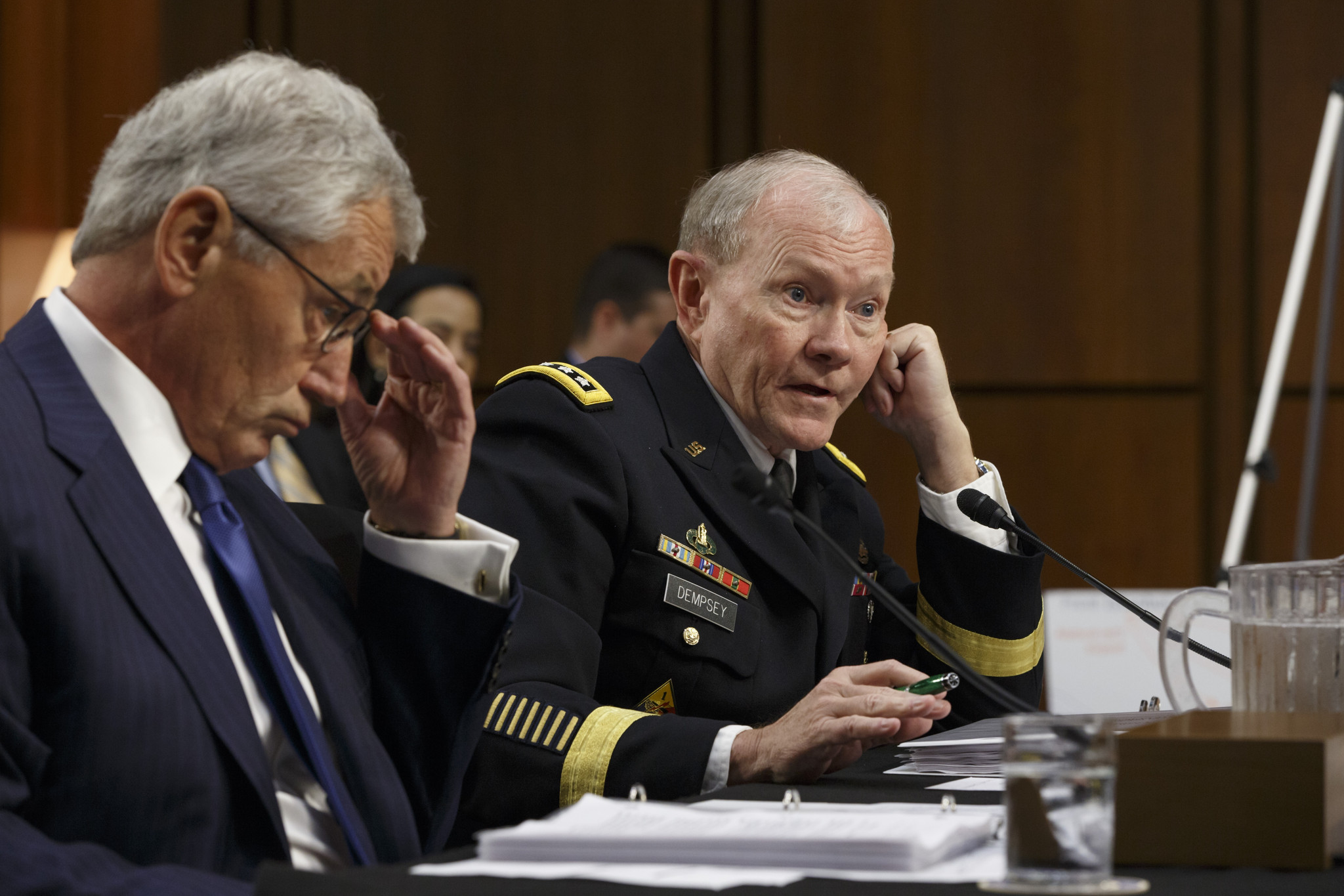 Gen. Dempsey: Islamic State dispersing into urban areas in Iraq