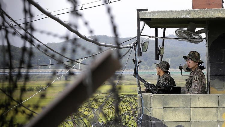 APphoto_South Korea Koreas American Detained