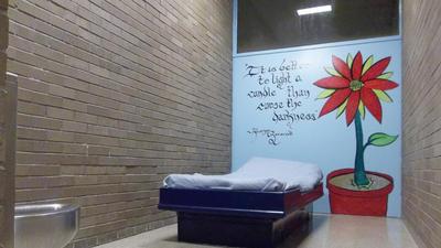Juvenile detention program is helping kids turn graffiti skills into art