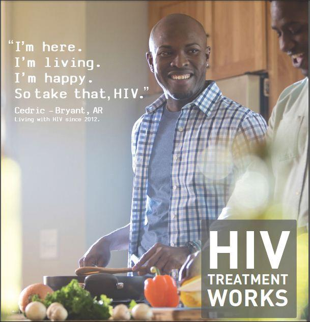 The Centers for Disease Control and Prevention has launched a new ad campaign encouraging people with HIV to seek treatment.