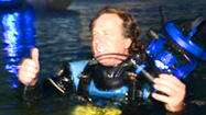 'The Grouper' starts 55-hour dive to set underwater record